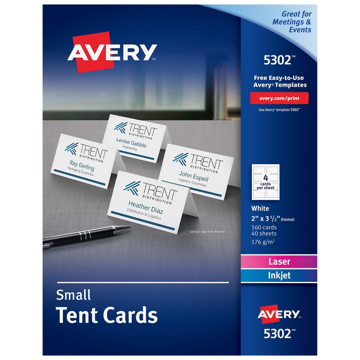 Avery Card Template
