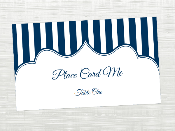 Our Printable Place Cards