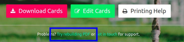 rebuilding pdfs