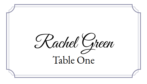 Place Card Me A Free And Easy Printable Place Card Maker For Weddings Holidays Or Anything Else
