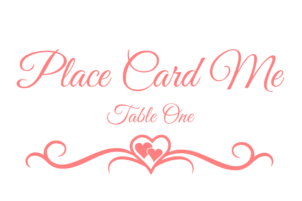 Place Card Me A Free And Easy Printable Place Card Maker - Placement card template