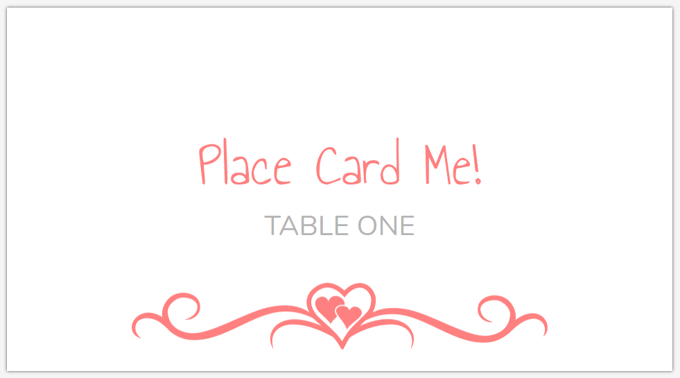 Place Card Maker Pertaminico - Place card maker